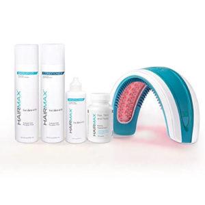 HairMax LaserBand 82 Hair Care Bundle