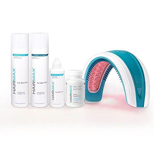 HairMax LaserBand 82 – Hair Care Bundle