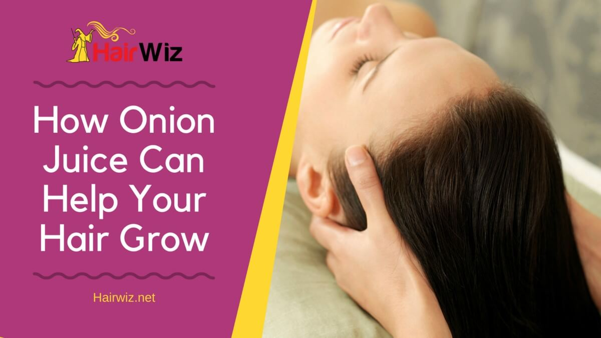 How To Use Onion Juice For Hair Growth foto